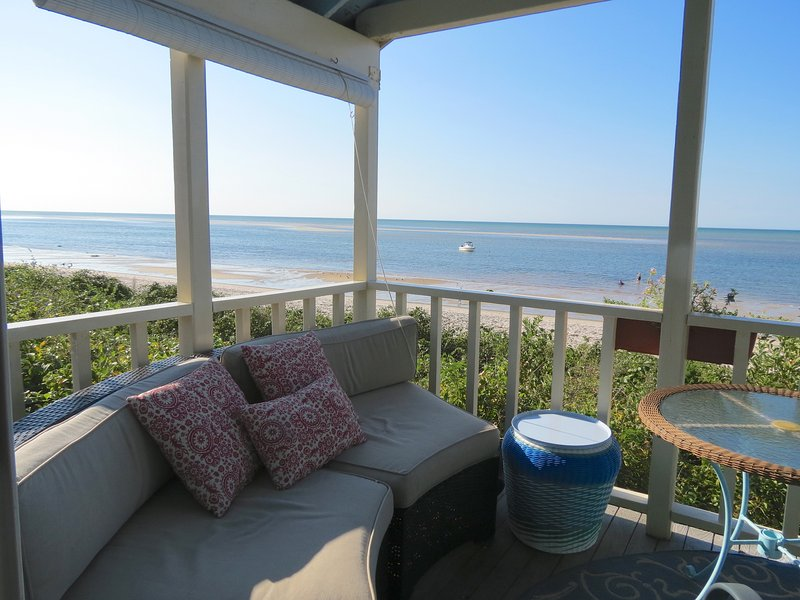Cheery Cape Beach Cottage Directly on Beach-078-B - Image 1 - Brewster - rentals