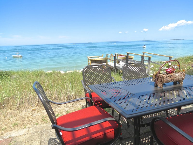 It's special living right on the beach. - Beachfront with Sweeping Bay Views -- 116-BK - Brewster - rentals