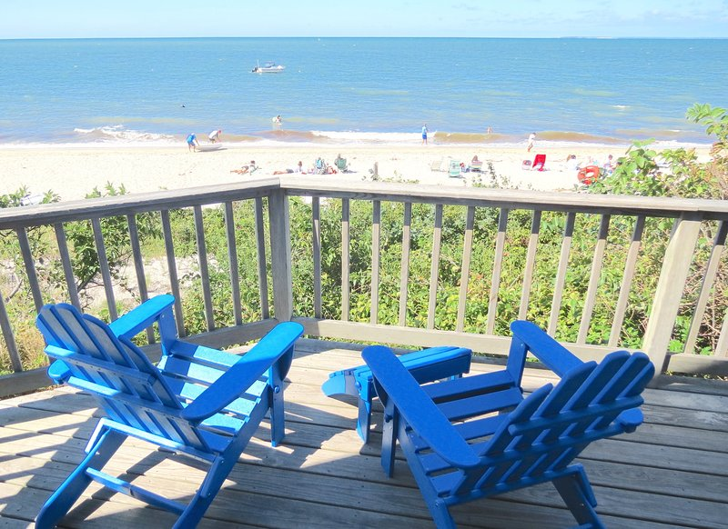 You wanted to be right on the beach, right? - Waterfront Brewster Cottage, Private Beach--092-B - Brewster - rentals