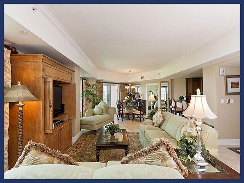 Fantastic 8th floor condo with 2 bedrooms and 2 bathrooms and beautiful furnishings though out - Image 1 - Reunion - rentals