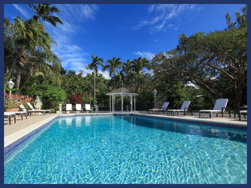 Luxury 6 Bed Villa with Private Pool and Sea Views - Image 1 - Paynes Bay - rentals