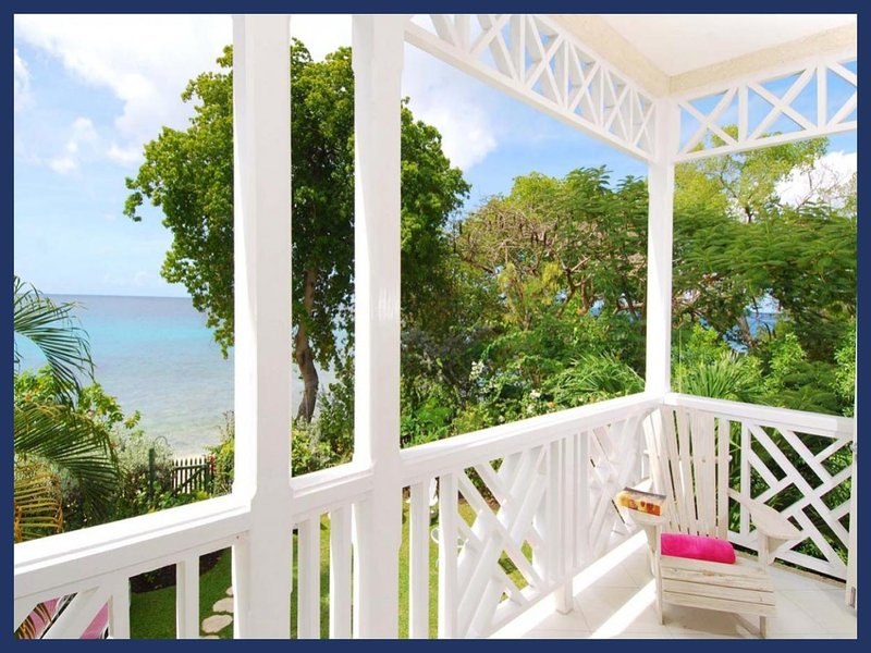 Classic 3 bedroom townhouse, with beautiful views of the ocean. Ocean views and dining - Image 1 - Paynes Bay - rentals