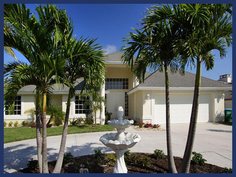 Incredible 3 bedroom Cape Coral Vacation Home with private pool, hot tub and boat dock. Boat available. - Image 1 - Cape Coral - rentals