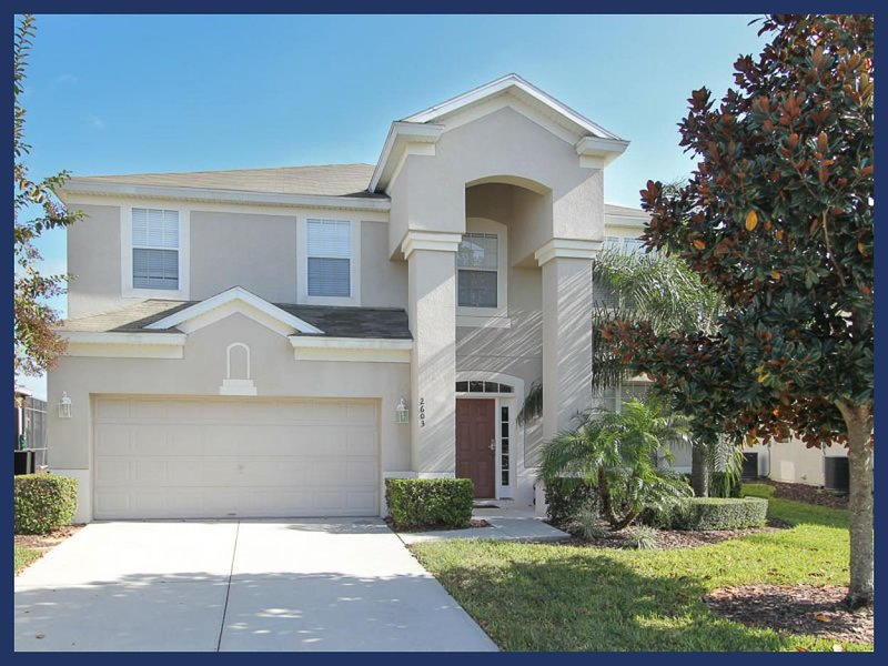 Luxury Family Villa - Lake View, 2 Miles To Disney - Image 1 - Four Corners - rentals
