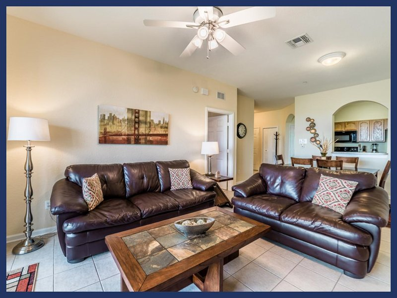 Located near Disney, 3 bedroom 2 bathroom, top floor luxury homely condo - Image 1 - Four Corners - rentals