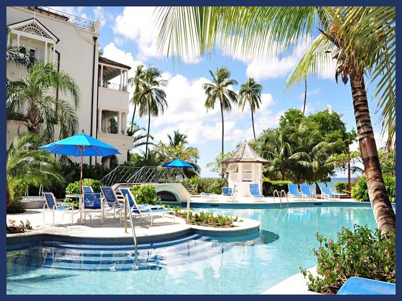 Luxury, beachfront 3 bedroom villa, stunning sunsets and jacuzzi - Image 1 - Mullins Beach - rentals