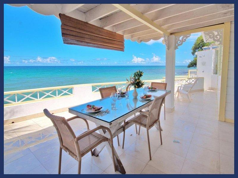 Stunning 2 Bed Beachfront Apartment - WiFi - Image 1 - Mullins Beach - rentals
