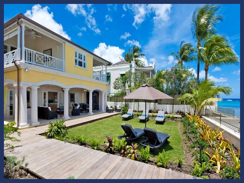 Luxury 5 Bed Villa - Pool and Direct Beach Access - Image 1 - Weston - rentals