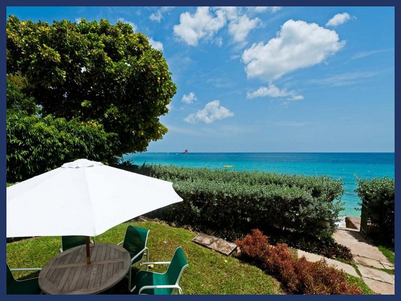 Stunning 4 Bed Beachfront Villa - Tropical Gardens - Image 1 - Trents - rentals
