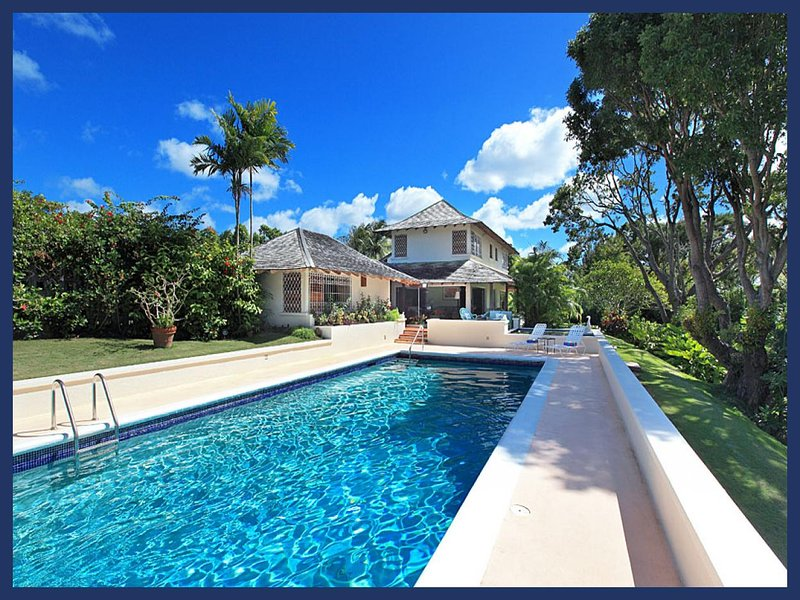 Luxury 4 Bed Home with Private Pool, Extra Cottage - Image 1 - Sandy Lane - rentals