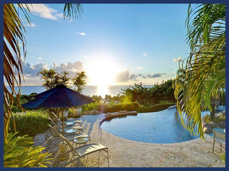 Luxury 6 Bed Home with Caribbean Sea Views - Image 1 - Sugar Hill - rentals
