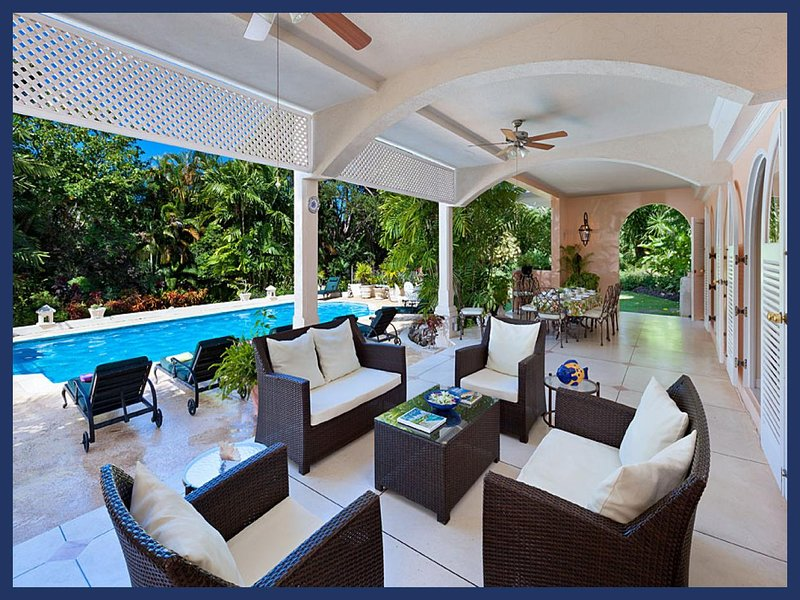 Beautiful 5 Bed Home with Private Pool and Terrace - Image 1 - Sandy Lane - rentals