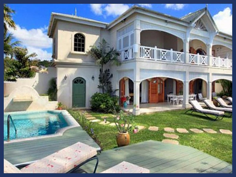 Delightful 5 bedroom villa on the West coast of Barbados, with magnificent views of the Caribbean Sea - Image 1 - Lascelles Hill - rentals