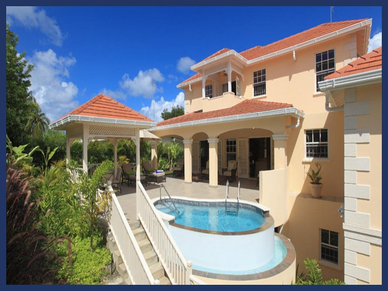 Essential 4 bedroom villa, near Sandy Lane Beach. Spacious fully equipped kitchen and swimming pool. - Image 1 - Gibbs Bay - rentals