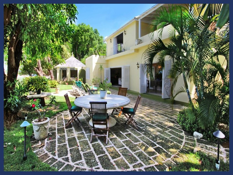 Luxury 3 Bed Beachfront Home - 2 Acre Gardens - Image 1 - Gibbes - rentals