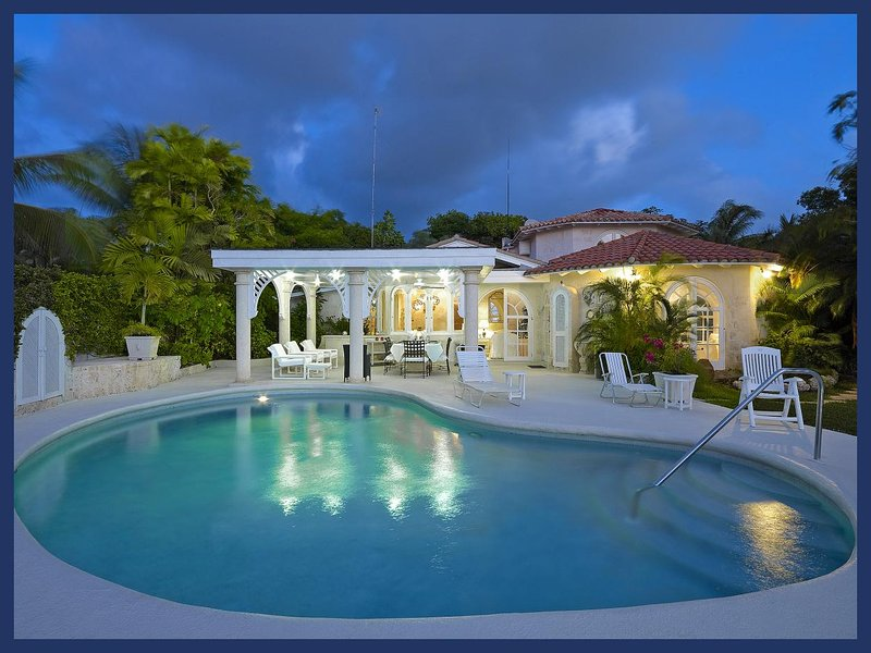 Luxury 4 Bed Beachfront Home - Caribbean Sea Views - Image 1 - The Garden - rentals