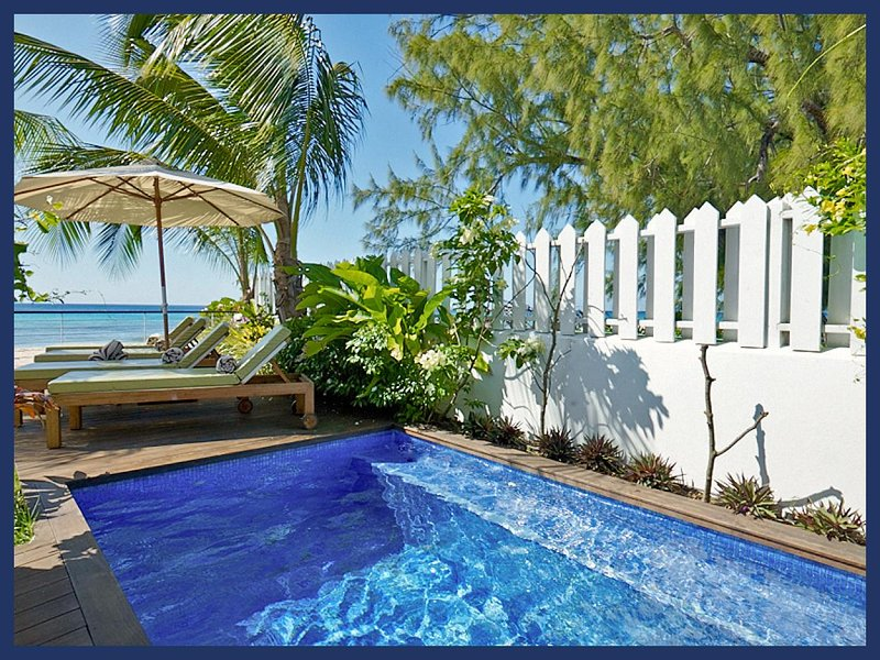 Beautiful Beachfront Villa with Stunning Views - Image 1 - Fitts Village - rentals