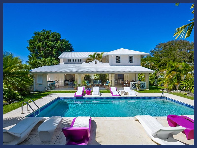 Luxury 4 Bed Home with Stunning Tropical Gardens - Image 1 - Gibbs Bay - rentals