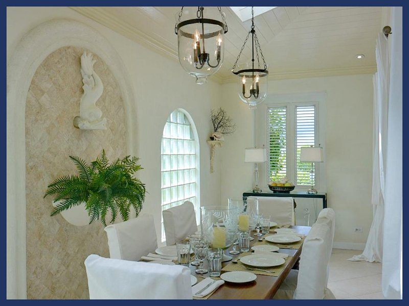 Stylish Beachfront Villa - Ocean Facing Sun Deck - Image 1 - Fitts Village - rentals