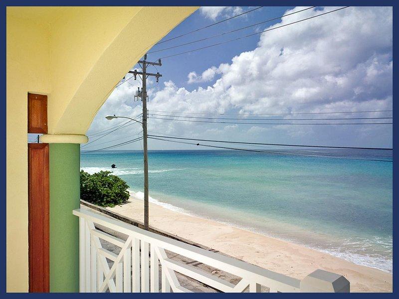 Fantastic 2 bedroom condo overlooking the ocean. Spacious living area with balcony. - Image 1 - Speightstown - rentals