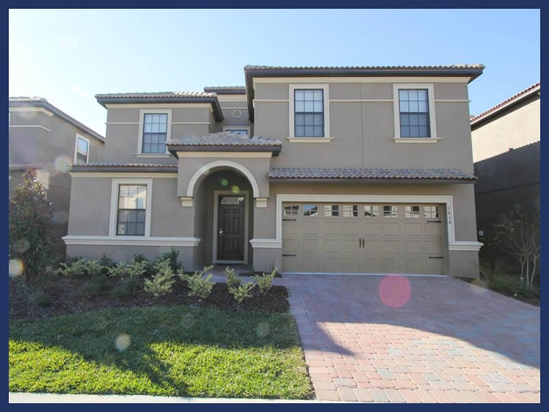 Beautiful Championsgate villa- 9 bedrooms- Oversized South West facing pool& Spa- Games room - Image 1 - Loughman - rentals