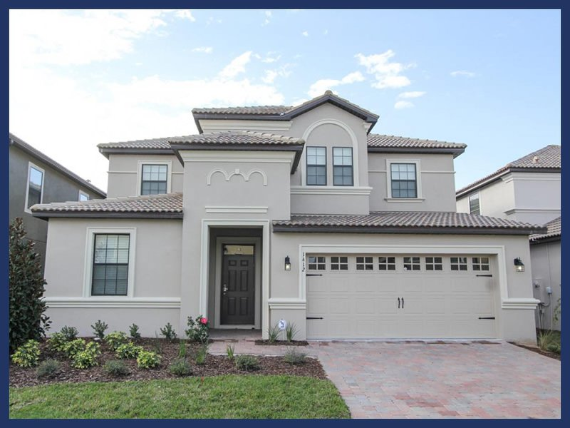 Stylish Championsgate luxury villa has a Games room- Private pool- Spa- 7 beautiful bedrooms - Image 1 - Loughman - rentals