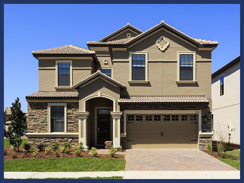 Brand new 8 bedroom home with private pool and spa, close to Disney and all other major attractions. - Image 1 - Loughman - rentals