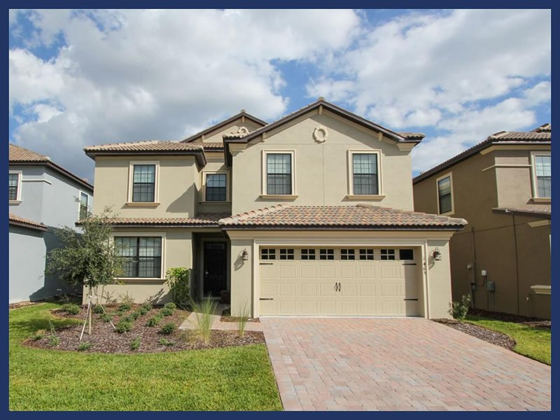 Perfect for multiple families- 6 bedroom- Located near Disney- Games Room- Covered Private Pool - Image 1 - Four Corners - rentals