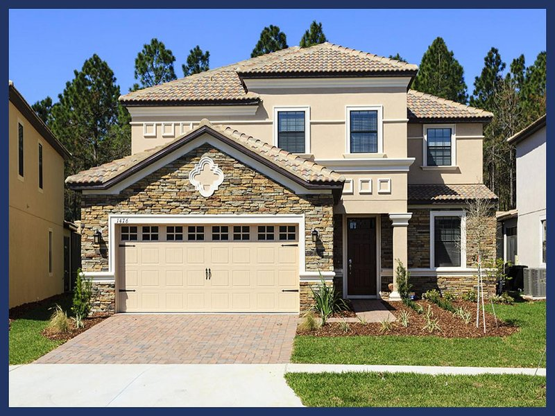 Ultra luxurious BRAND NEW Championsgate vacation rental- 6 miles from Disney- Perfect for family vacation - Image 1 - Four Corners - rentals