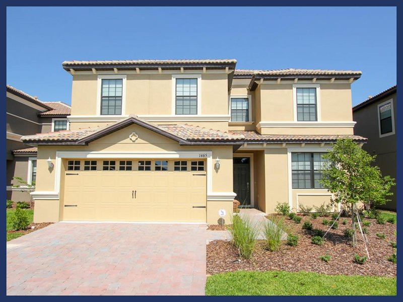 Professionally decorated- Stunning 6 bedroom vacation rental, Championsgate- Pool- Games Room - Image 1 - Loughman - rentals