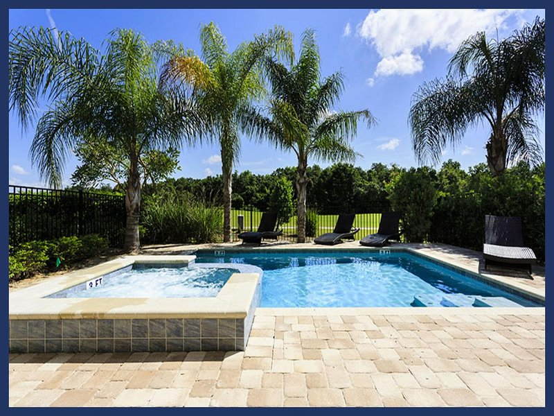 Beautiful 5 bedroom home in Reunion Resort, with games room, swimming pool, spa and wireless internet. - Image 1 - Reunion - rentals