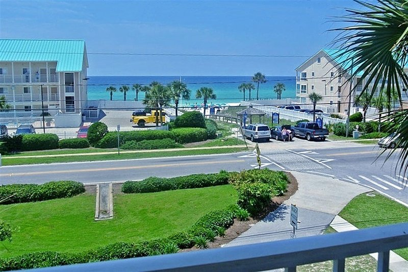 Spectacular View from the condo balcony!! - Grand Caribbean East 313 - Destin - rentals