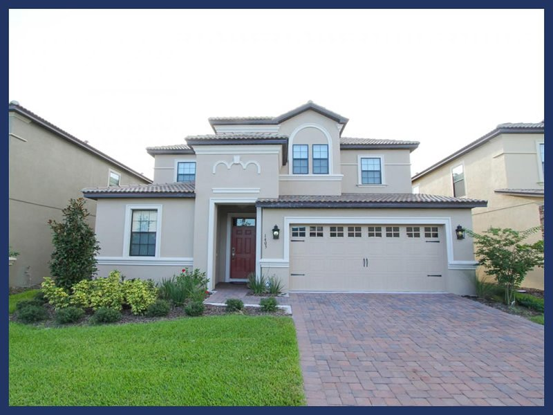 Professionally decorated, striking 7 bedroom rental, Championsgate- Games room- Private pool - Image 1 - Loughman - rentals