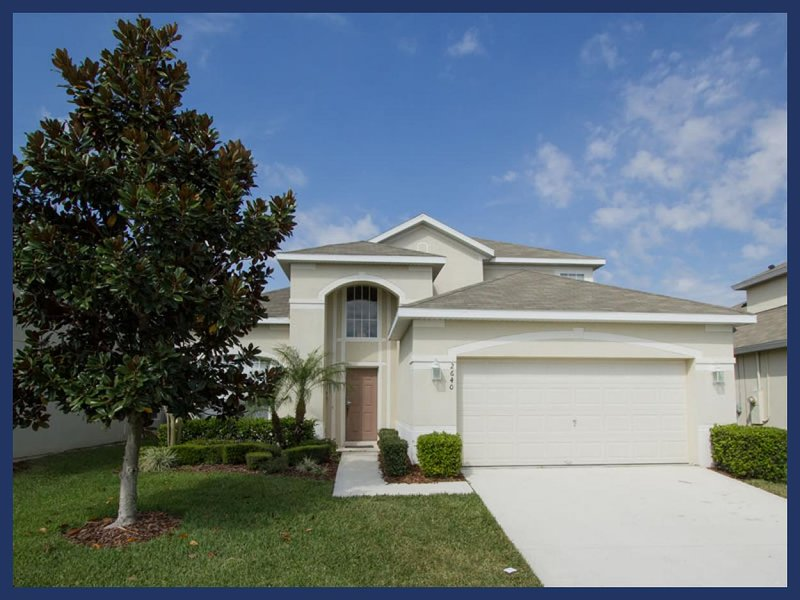 6 bedroom Windsor Hills Resort home with private swimming pool only 1.5 miles to Disney World. - Image 1 - Four Corners - rentals