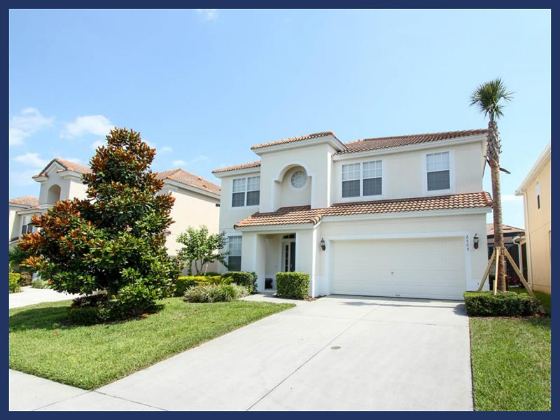 Spectaular 6 bedroom home with lovely interior, games room and private pool in Windsor Hills - Image 1 - Four Corners - rentals