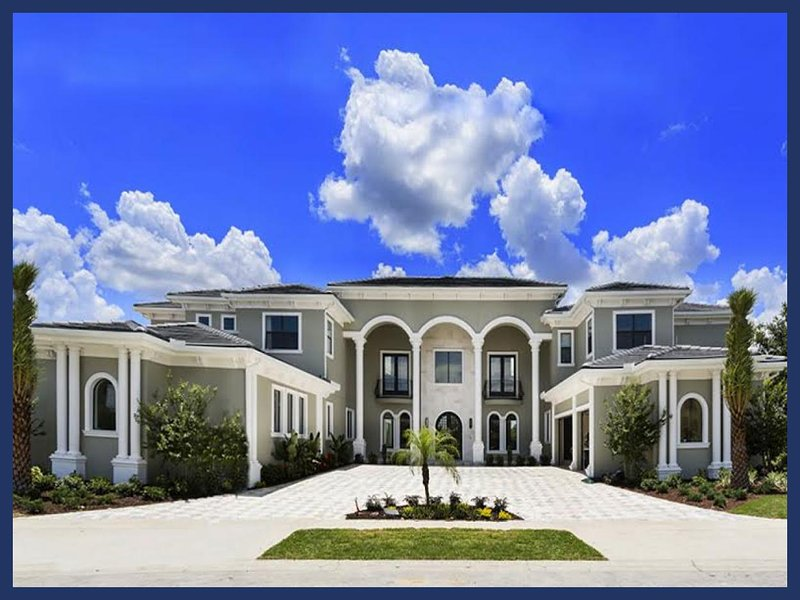 Amazing 9 Bed Home with Bowling Alley and Pool/Spa - Image 1 - Reunion - rentals