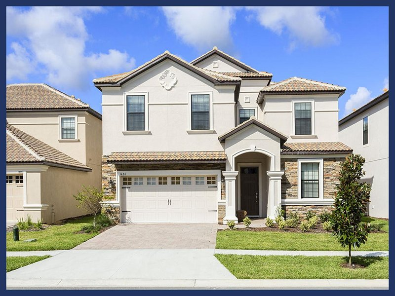 Located near Disney, fabulous 8 bedroom home ideal for family holiday with large private pool, cinema and games room - Image 1 - Winter Park - rentals