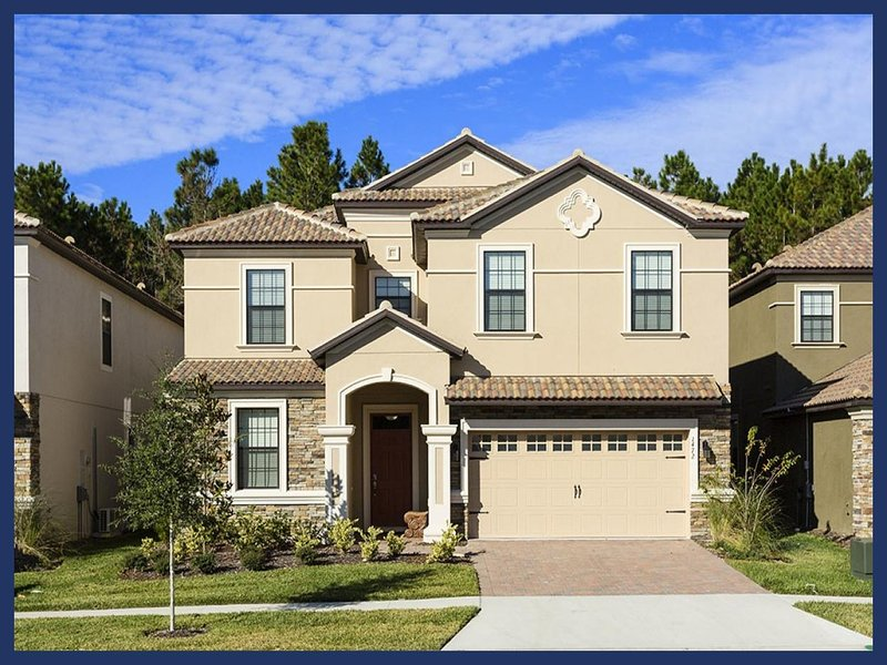 Amazing 8 Bed Home with Private Pool - Near Disney! - Image 1 - Loughman - rentals