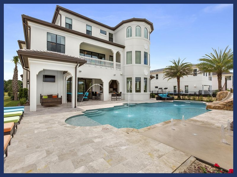 Luxury 13 Bed Home - Cinema - Sports Hall - Pool - Image 1 - Reunion - rentals