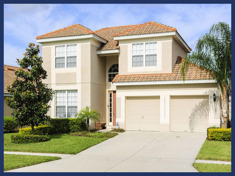 Beautiful 5 bedroom Windsor Hills villa, 3 miles from Disney with private pool and spa - Image 1 - Four Corners - rentals