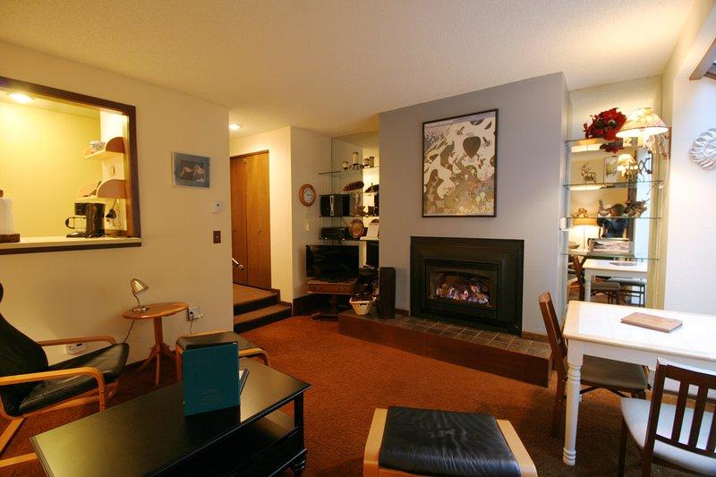 Living room - 28SW Ground Floor Condo at Mt. Baker has WiFi - Glacier - rentals