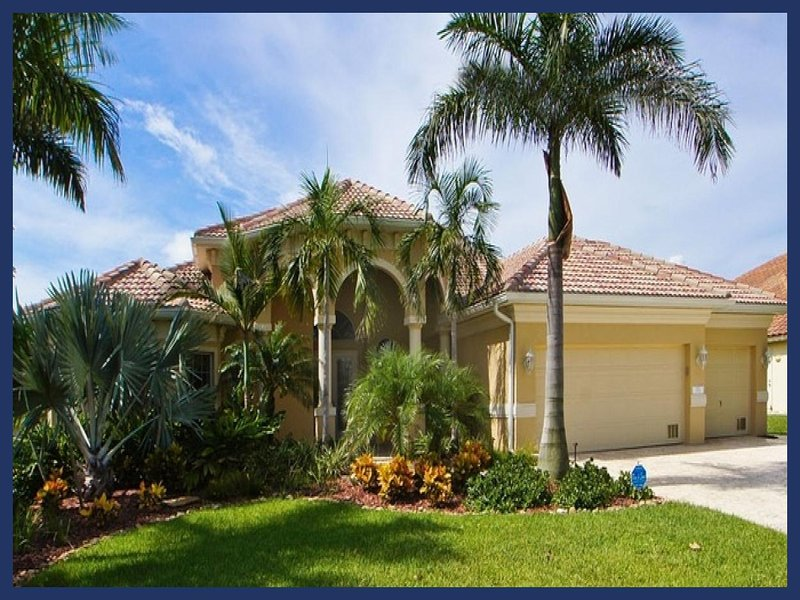 Fabulous waterfront villa-Electric/solar pool-Situated on canal-Gulf access-4 bedrooms-Pet friendly - Image 1 - Cape Coral - rentals