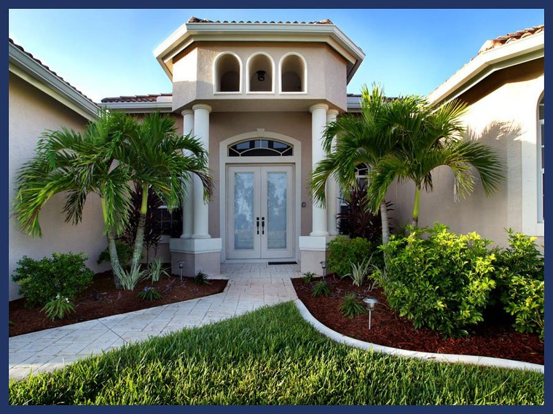 Amazing waterway views- Luxurious spacious vacation rental- 3 bedroom- Large pool- BBQ - Image 1 - Cape Coral - rentals