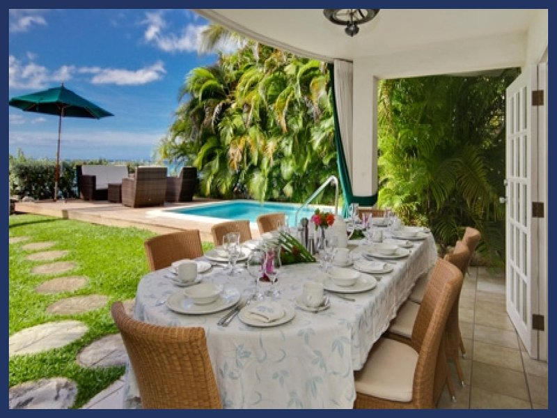 Stunning 4 Bed Home with Pool and Beach Views - Image 1 - Fitts Village - rentals