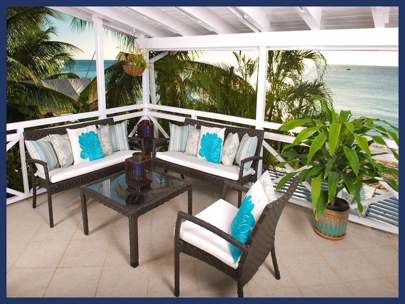 Luxury 2 Bedroom Beachfront Apartment - Image 1 - Paynes Bay - rentals