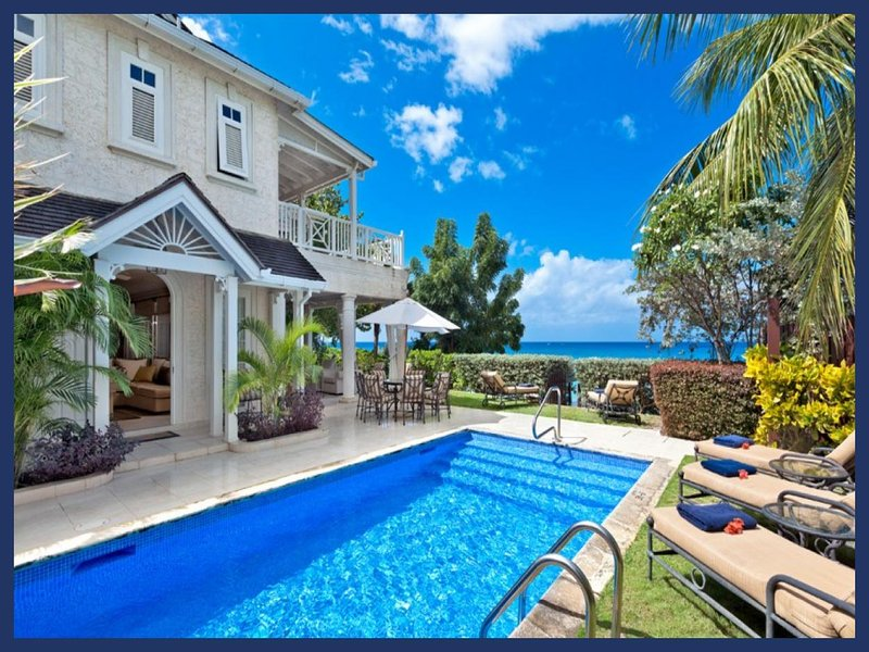 Luxury 4 Bed Beachfront Villa with Private Pool - Image 1 - Gibbs Bay - rentals