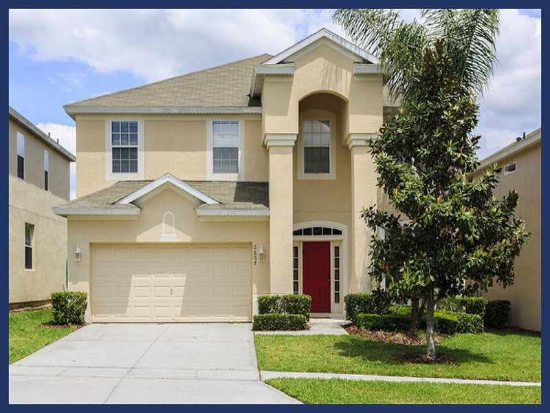 Luxury 6 Bed Home with Pool - 3 Miles to Disney - Image 1 - Four Corners - rentals