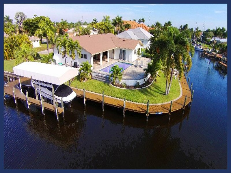 Stunning 3 Bedroom Home with Private Pool - Image 1 - Cape Coral - rentals