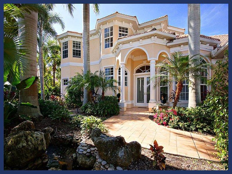 Exquisite 4 bedroom luxury villa- Beautiful tropical garden- Pool- Boat deck- Recently renovated - Image 1 - Matlacha - rentals