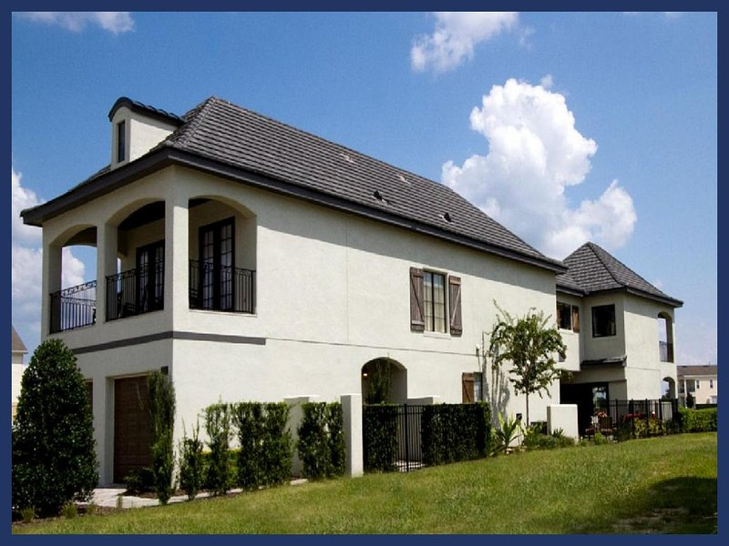 Luxury 6 Bed Family Home with Private Pool, WiFi - Image 1 - Intercession City - rentals
